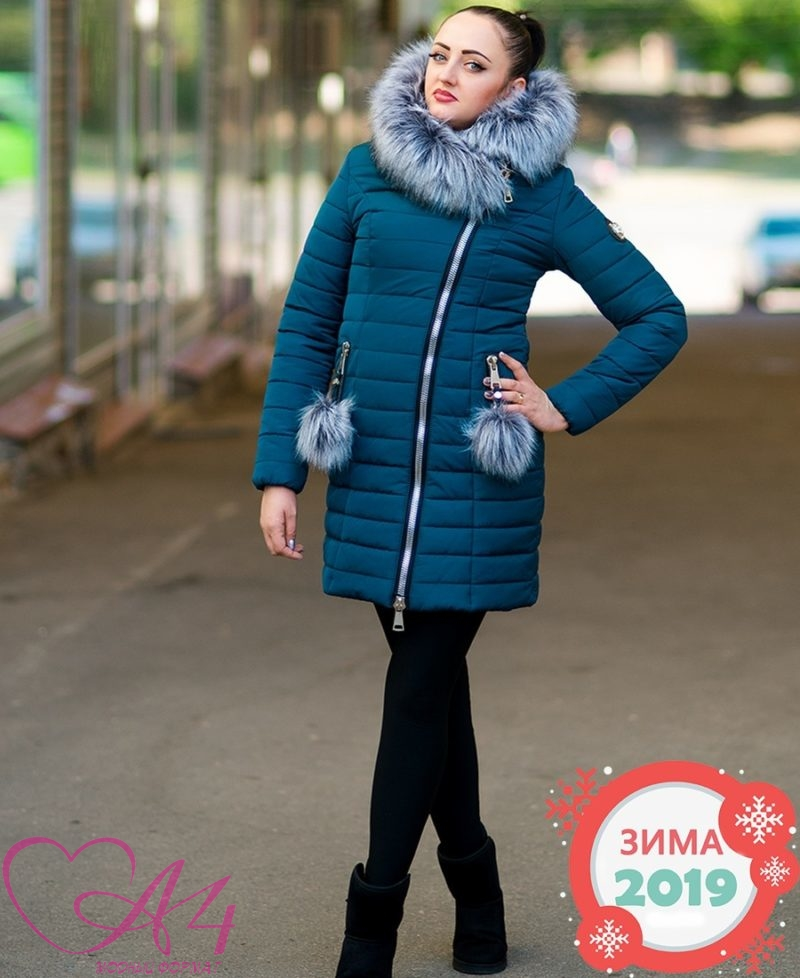 Легендарный зимний пуховик Прада мех (волна) фото